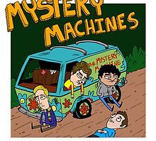 Mystery Machines Album Cover by Jacob Paul