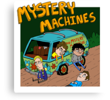 Mystery Machines Album Cover Canvas Print