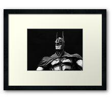 World's Greatest Detective 01 - Black & White Framed Print