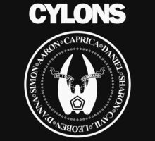 CYLONS (white - low detail) Kids Clothes