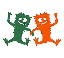 2 Party Monster team dancing hairy by Style-O-Mat