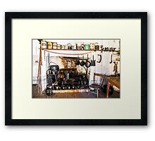 The Kitchen Hearth. Framed Print