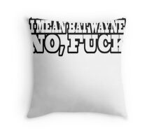Bruce Man Throw Pillow