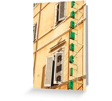 The colours of Rome Greeting Card