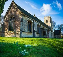 St John The Baptist Church Blisworth by Ralph Goldsmith