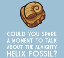 Could you spare a moment to talk about the Helix? by David Tesla