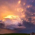 Super cell Sunset, South Dakota, USA by John Finney