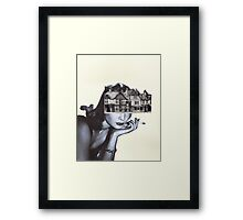 Thinking of home. Framed Print