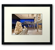 The New Acropolis Museum Framed Print