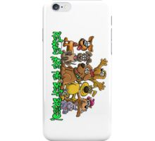 RESCUE DOGS ARE THE BEST BREED! iPhone Case/Skin
