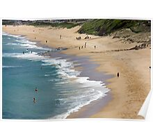 The Cliff Beach - Newcastle Poster