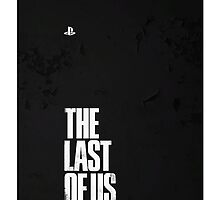 The Last of Us Logo Corner (Corroded PS) by TwinMaster
