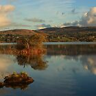 Lough Eske Light by Adrian McGlynn