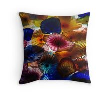 Sea Flowers and Mermaid Gardens - Take 2 - Horizontal Throw Pillow
