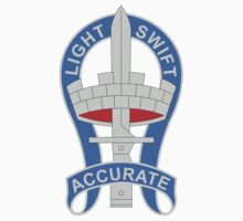 199th Infantry Brigade - DUI - Light, Swift, Accurate by VeteranGraphics