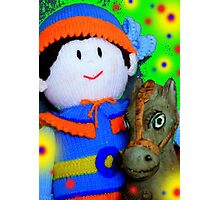 Knitted Dolls Fun 7 Photographic Print
