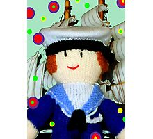 Knitted Dolls Fun 8 Photographic Print