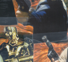 Star Wars Homage Collage #2 Sticker