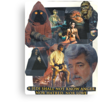 Star Wars Collage Canvas Print