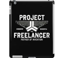 Red vs Blue Project Freelancer iPad Case/Skin