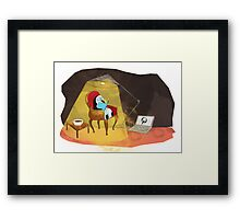 Reading Framed Print