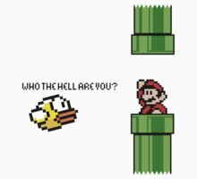Flappy Mario (Who the hell are you?) by Violentsofa
