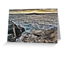 North sea island Greeting Card