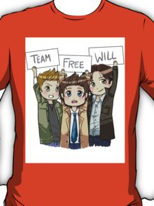 Chibi Team Free Will T-Shirt