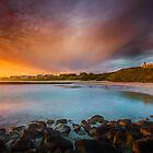 Sunset at Pea Soup by hangingpixels