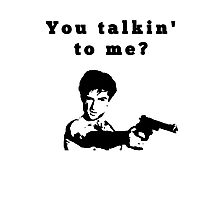 Taxi Driver - you talkin´ to me? Photographic Print