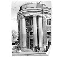 Danforth and Broadview CIBC Building Poster