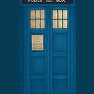 Blue Box - iPhone Case by RainbowCarnagex