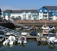 Exmouth Marina. by Antony R James