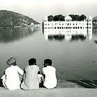 Lake near Jaipur, India by paulsborrett