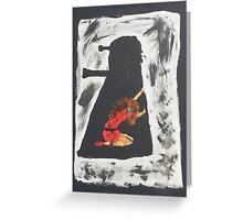 Oswin and the Dalek Greeting Card