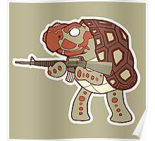 Tortoise Dude Poster