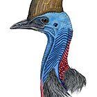 Southern Cassowary by NearBird