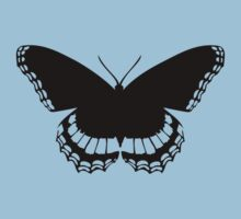 Butterfly Silhouette Kids Clothes