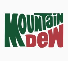 Mountain Dew Old School Retro Logo  by sturgils