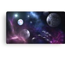 Journey to the Ravaged Worlds Canvas Print
