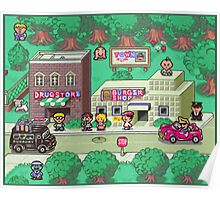 Earthbound Town Poster