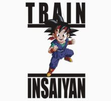 Train Insaiyan - Goku Jr by irig0ld