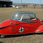 Messerschmidt Bubble Car (ME-109), Toogoolwah, Queensland 2005 by muz2142