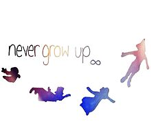 Never Grow Up-Peter Pan by Deborah  Stormborn