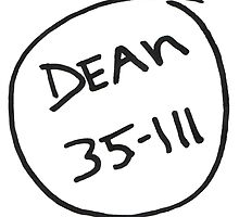 Dean 35-111  by lovefromdani
