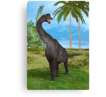 Dinosaur Brachiosaurus Canvas Print