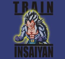 Train Insaiyan Super Saiyan 5 Vegeta by BadrHoussni