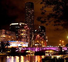 Melbourne - White Night 8 by DavidsArt