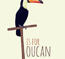 T is for Toucan by cjrush
