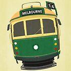 Melbourne Tram by melbournedesign